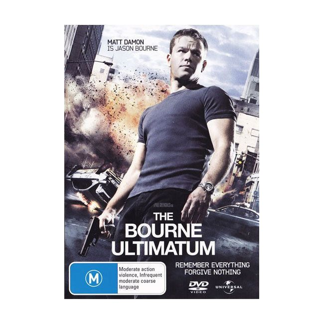 The Bourne Ultimatum (DVD)  - Matt Damon