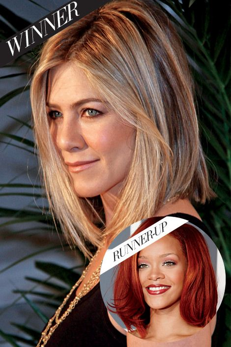 long bob  @: Haircuts, Hairstyles, Hair Colors, Jennifer Aniston, Hair Cut, Shorts Bobs, Hair And Beautiful, Hair Style, Long Bobs