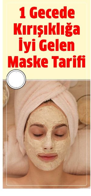 Kırışıklıkları 1 Günde Azaltan Süper Maske Nasıl Yapılır?