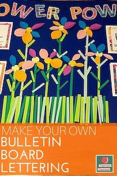 It is so much easier to create my own bulletin board items to match a classroom theme, rather than try to see what the teacher supply store has available.