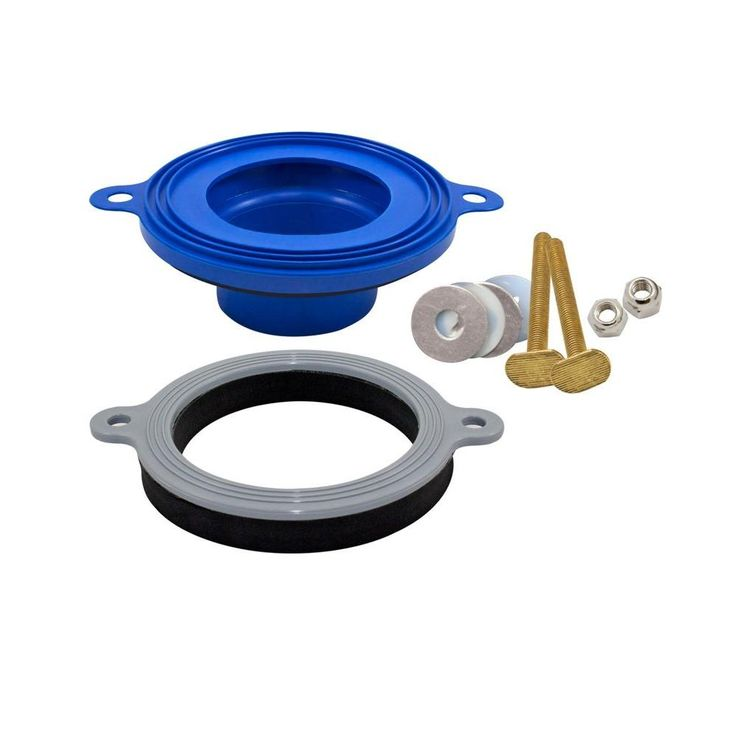 Fluidmaster Better Than Wax Universal Wax Free Toilet Seal 7530p24 Toilet Ring Toilet Repair Wax Ring