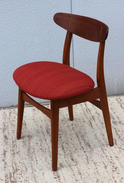 Dán szék mahagóni fából