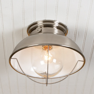 kitchen - Nautical Flush Mount Light.. link to lighting website