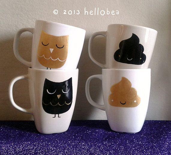 custom-made hand painted mug