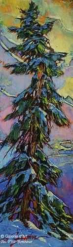 David Langevin, 'No, You're Wrong', 3,75'' x 12,25'' | Galerie d'art - Au P'tit Bonheur - Art Gallery