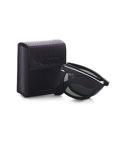 Folding Wayfarer Sunglasses ray ban