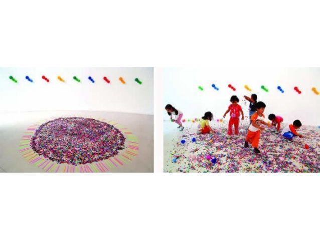 Instalaciones y happenigs arte contemporáneo en la educación artística