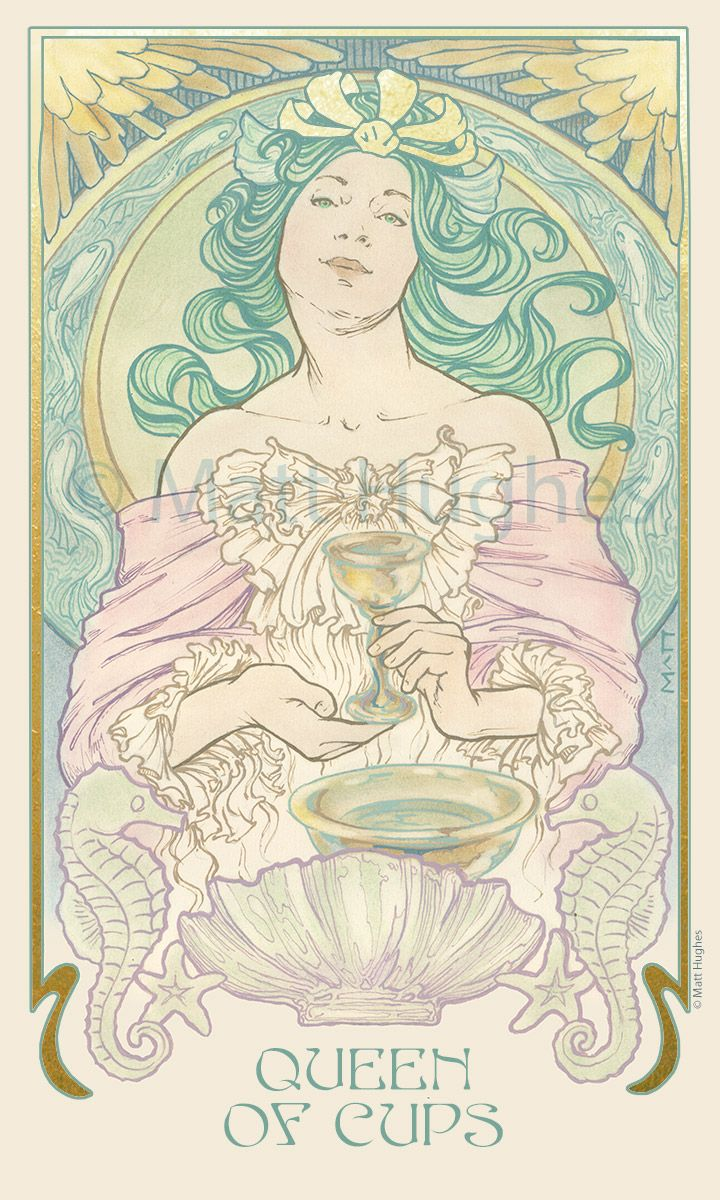 82 Best Ethereal Visions Tarot Deck By Matt Hughes Images