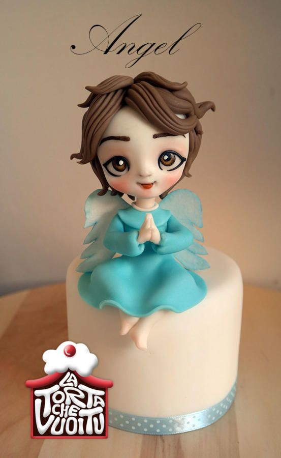Little+angel+-+Cake+by+Tiziana+Benvegna