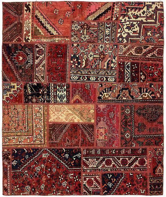 Red 170cm x 203cm Ultra Vintage Persian Rug   Persian Rugs   AU Rugs