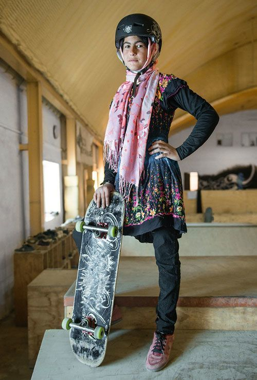 Not allowed to cycle these Afgan girls learn to skateboard | Jessica Fulford-Dobson: Skate Girls of Kabul