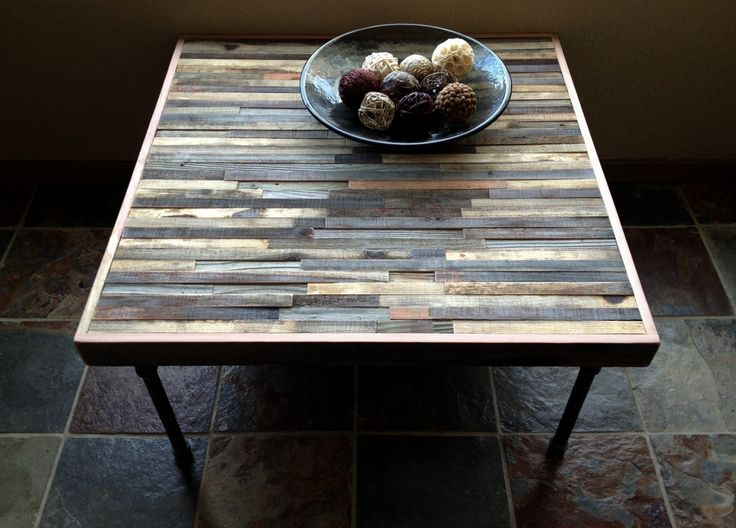 Barnwood Coffee Table - Industrial - Mid-Century - Modern - Contemporary - Rustic Zen. $525.00, via Etsy.