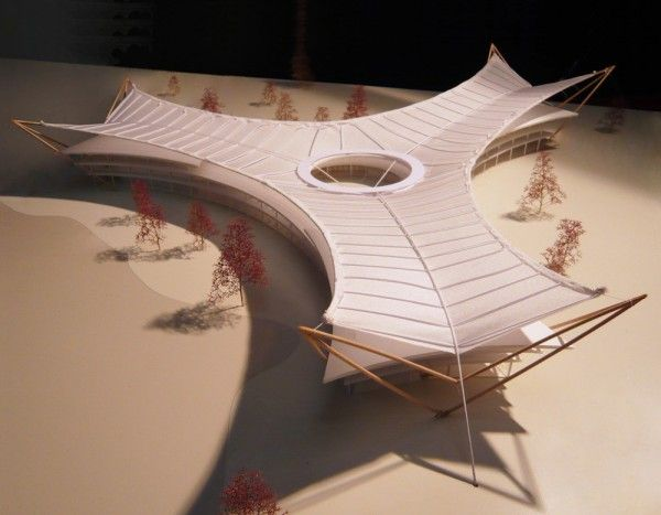 The Leaf \ Serge Schoemaker Architects & Miriam Haag architecture + consulting, architectural model
