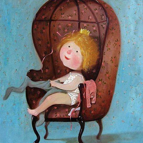 """Вы читали историю успеха Евгении Гапчинской? Ее работы сложно спутать с чужими - удивительные человечки с детскими подписями в духе """"Мама купила мне трусы в розочках"""" или """"Глупое мое сердце все любит и любит"""". Восхищаюсь ее историей! Это прекрасный пример как не изменять себе. Не смотря на финансовые проблемы искать возможности рисовать, и не просто рисовать, а искать свой стиль, творить от души! Полную версию статьи вы легко сможете найти в интернете или по ссылке в низу 👇 Не хочу просто…"""