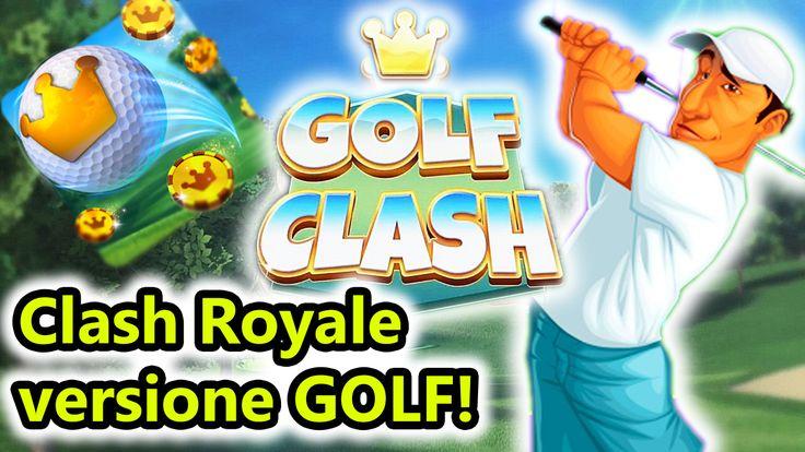 Golf Clash - Versione GOLF di Clash Royale! - Android Eccoci ad un nuovo gioco per Android davvero molto interessante, ovvero Golf Clash! Un gioco online in cui sfideremo gli avversari a golf, ma per vincere avremo bisogno di sbloccare nuove mazze da go #golfclash #golf #sport #android