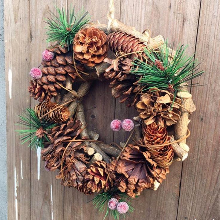 Round Shape Christmas Decorative Wreath Garland