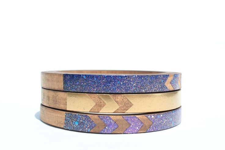 Bat for Lashes Skinny Bangle Set on @shopBRIKA