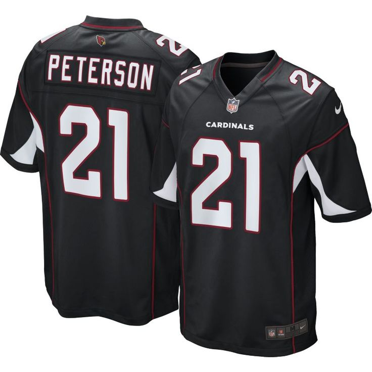 nike arizona cardinals 21 patrick peterson 2012 pink womens draft ... 7457367b4