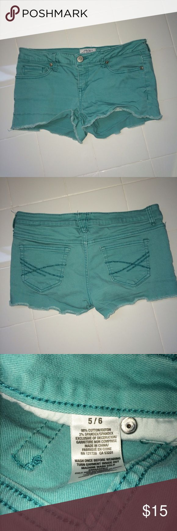 Aeropostale Shorts Comfortable teal shorts from Aeropostale Aeropostale Shorts