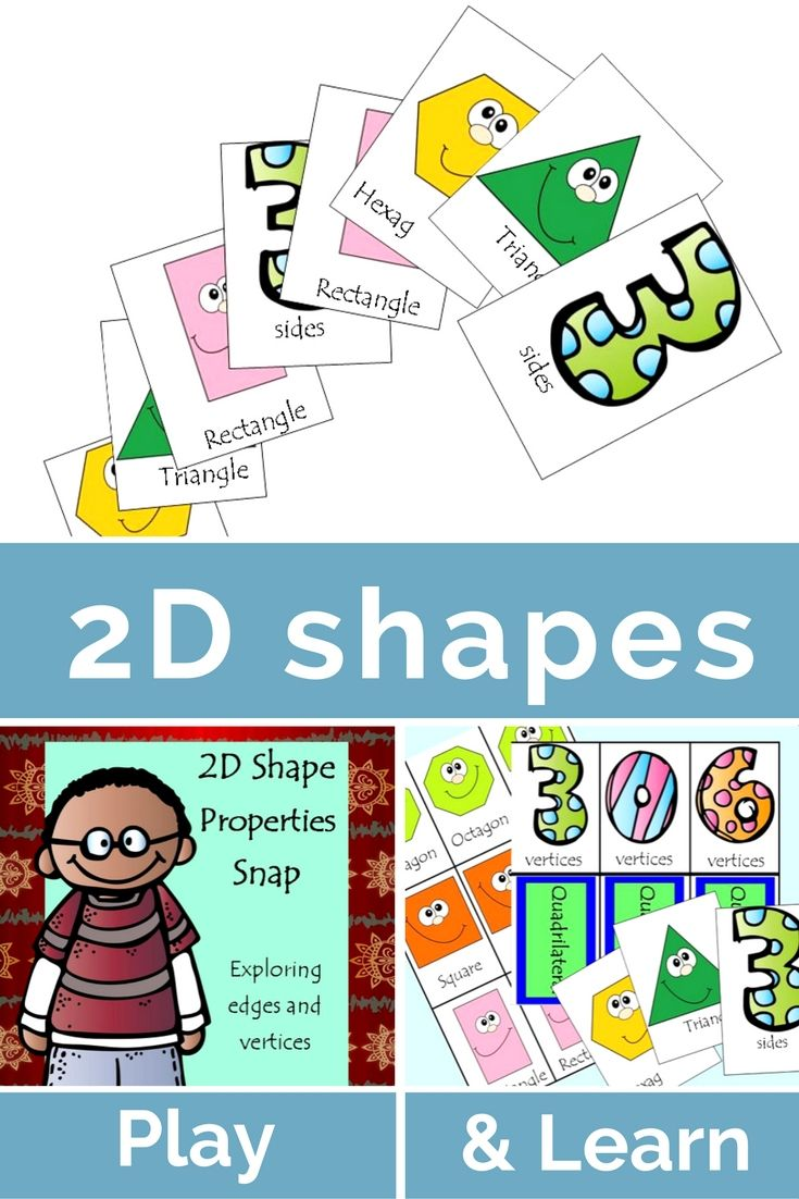 Amazing FREE D Shape property game that focuses on students being able to classify u
