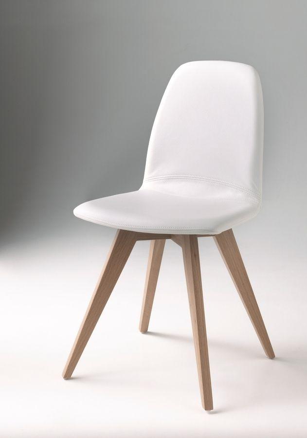 Je kan zelf de perfecte stoel ontwerpen. Kies een poot, de stof of het leder, de armleuning, de hoogte, enz. Er zijn honderden combinaties mogelijk.