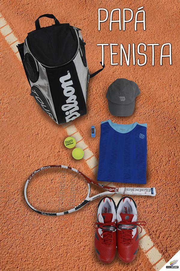 Bolso, Wilson - Jockey, Wilson - Pulsera de rendimiento, Garmin - Pelotas, All Sport and Tennis - Raqueta, All Sport and Tennis - Polera, Wilson - Zapatillas, All Sport and Tennis