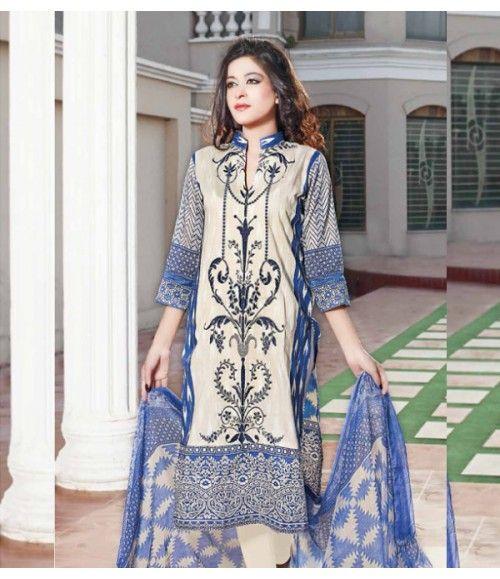 Rangrasiya Embroidered Lawn Suits Vol.3 D-1043A