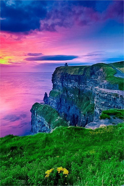 Sunset in Ireland - pretty pretty | From @GuessQuest collection