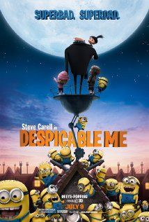 """Disney's """"Despicable Me"""" (dir. Pierre Coffin & Chris Renaud) --- When a criminal mastermind (voiced by Steve Carell) uses a trio of orphan girls as pawns for a grand scheme, he finds their love is profoundly changing him for the better. Also featuring the voices of Julie Andrews, Will Arnett, Kristen Wiig, Jason Segel, and Mindy Kaling."""