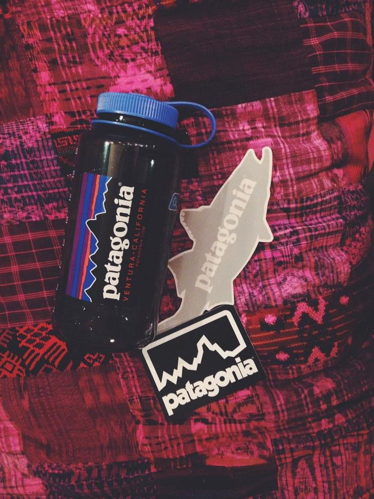 Free stickers from Patagonia for my Nalgene!