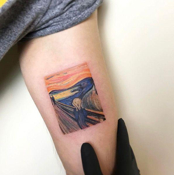 Edvard Munch's The Scream by Eva Krbdk