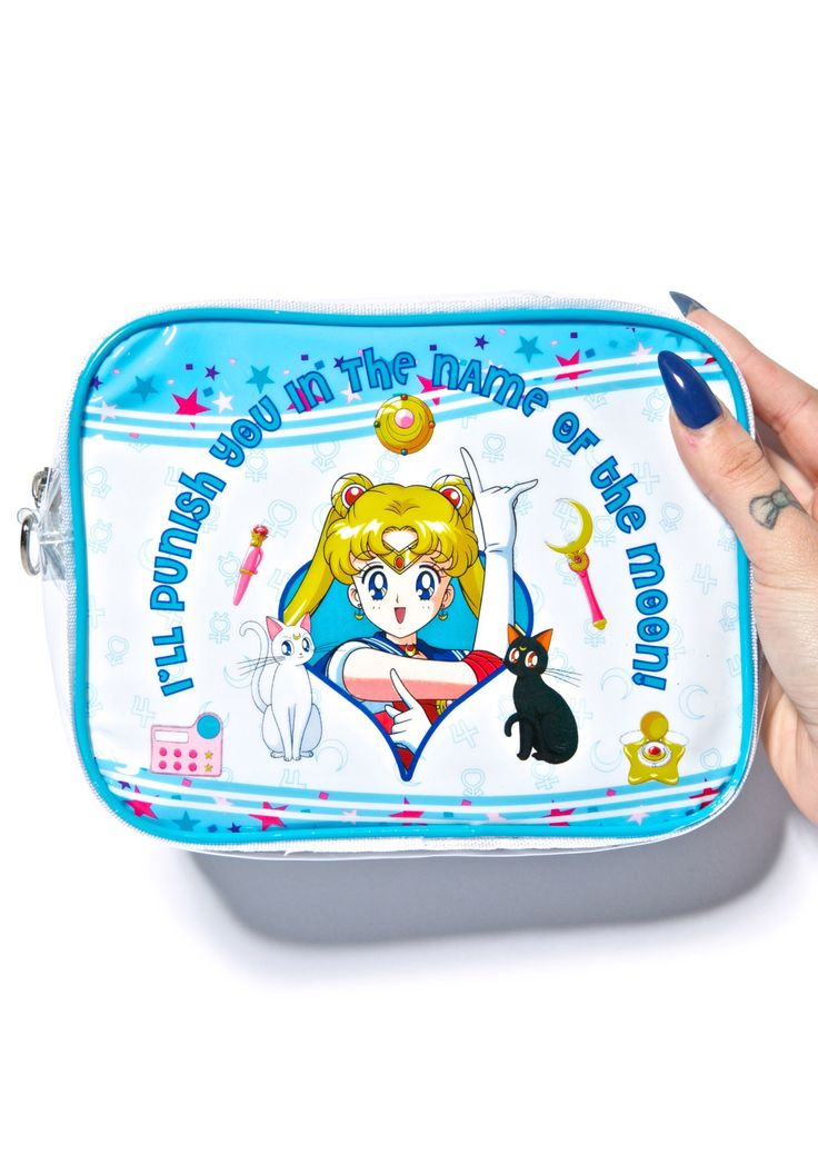 Sailor Moon Cosmic Cosmetic Bag | Dolls Kill | Accessories ...