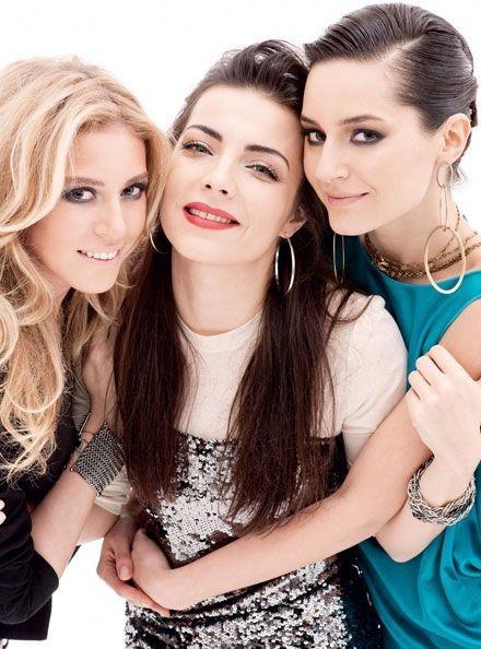 Sedef Avci, Sinem Kobal, Burcu Kara Turkish Actressess