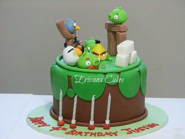 109 best Angry Birds cakes cupcakes and cookies images on Pinterest