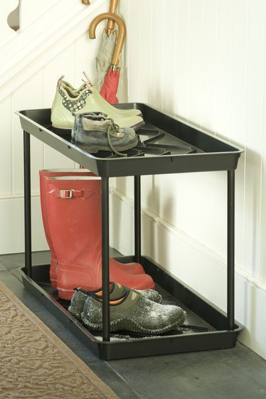 best 25 boot tray ideas on pinterest shoe tray magnolia homes and boot organization. Black Bedroom Furniture Sets. Home Design Ideas