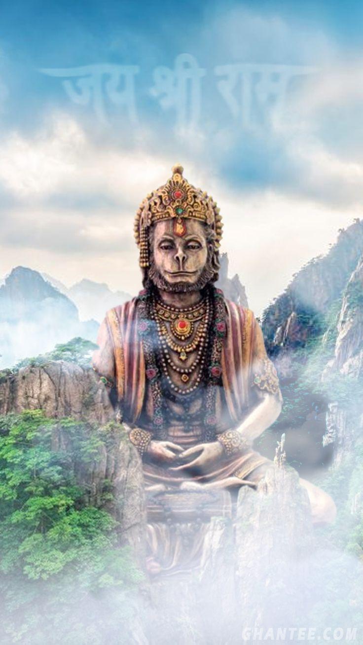 hanuman ji hd wallpaper | 1920x1080 in 2020 | Lord hanuman ...