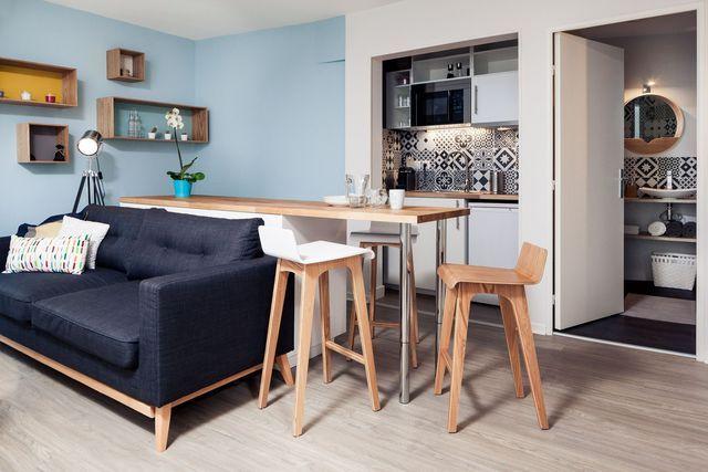 Appartement Tours : 32 m2 scandinaves refaits à neuf - Côté Maison