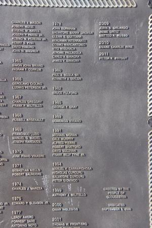 Fishermen's Memorial Monument | Stacy Boulevard, Gloucester, MA