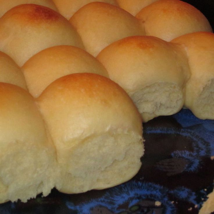 Old Fashioned Soft and Buttery Yeast Rolls Recipe | Just A Pinch Recipes