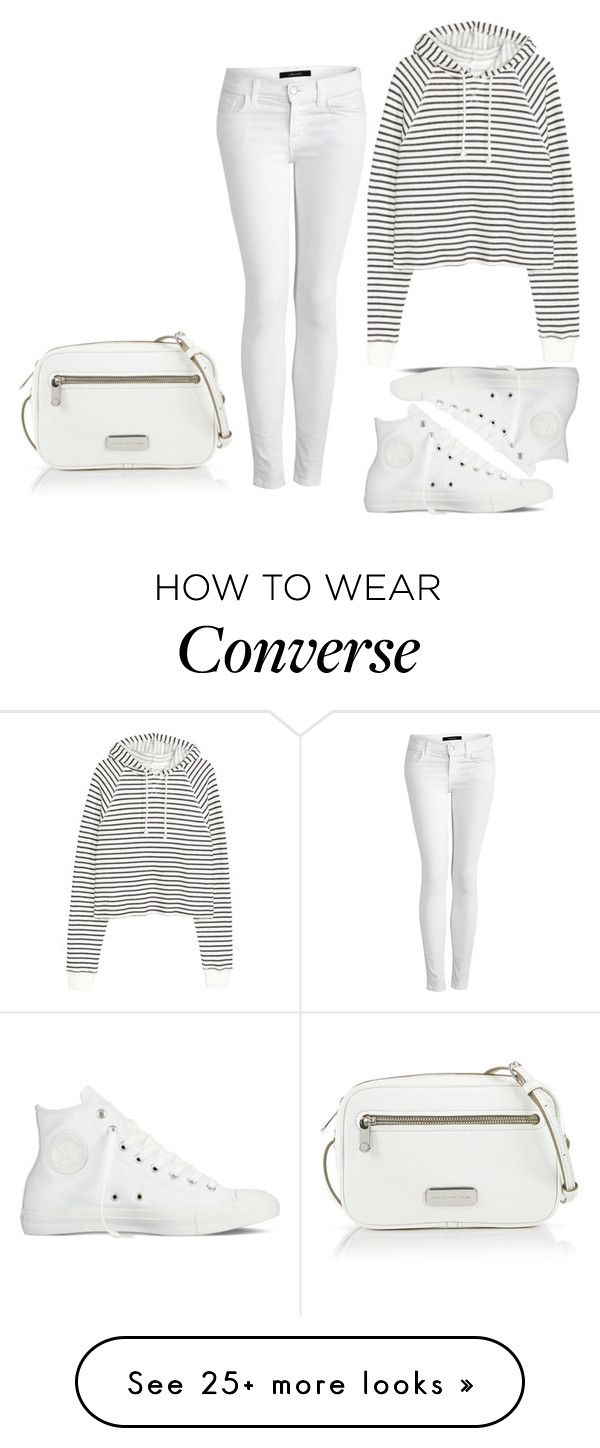 """2016/192"" by dimceandovski on Polyvore featuring J Brand, Converse and Marc by Marc Jacobs"