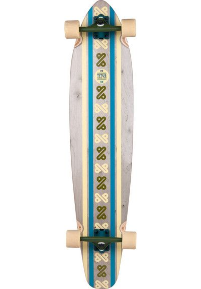 The Titus Line Up 2 longboard is a high-end concrete-surfer. The natural, wooden finish combined with the simple design reminds of the very beginning of surfing, when boards were shaped entirely from wood. #longboards #titus #longboarding #cruising #skate