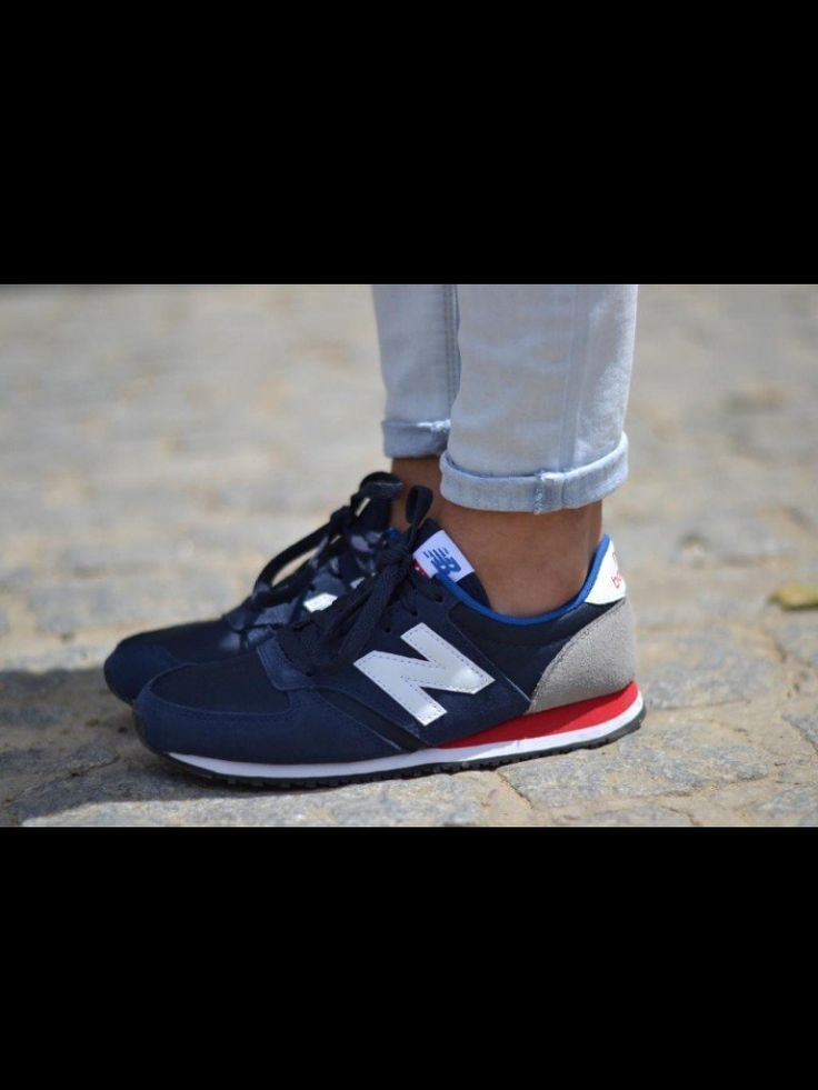 new balance running shoes, not usually a big fan but these are cute!