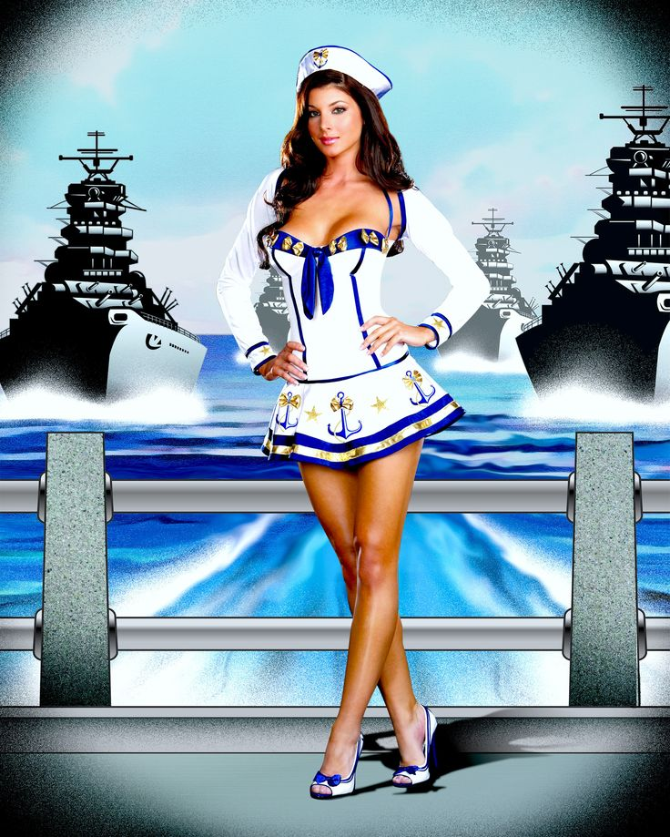 Sexy Sailor Costume Halloween