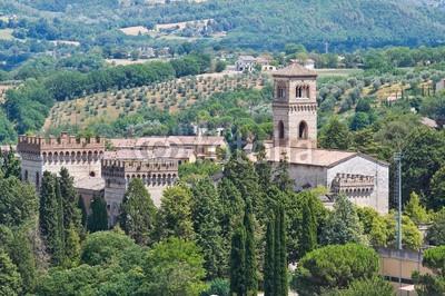 Castle of St. Girolamo. Narni. Umbria. Italy