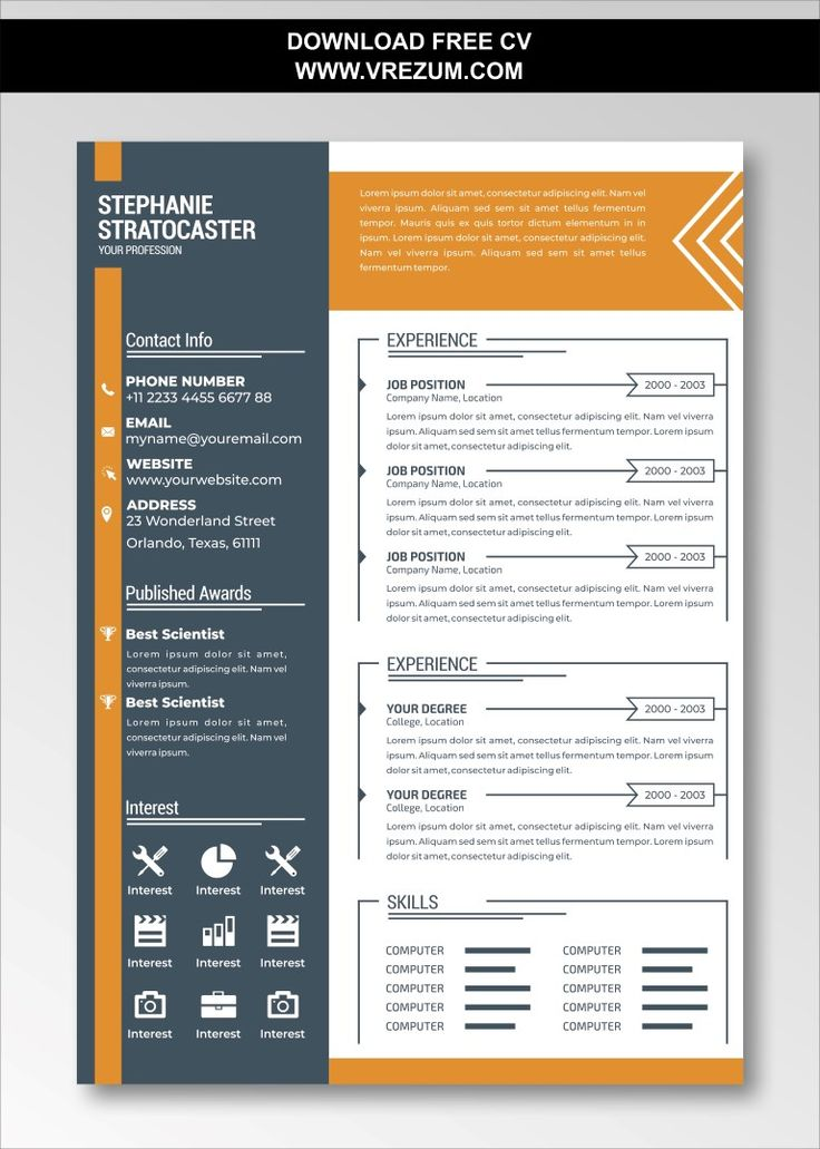 data analyst resume sample download