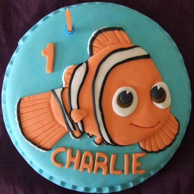 Best  Nemo Cake Ideas On Pinterest Finding Nemo Cake Finding - Nemo fish birthday cake