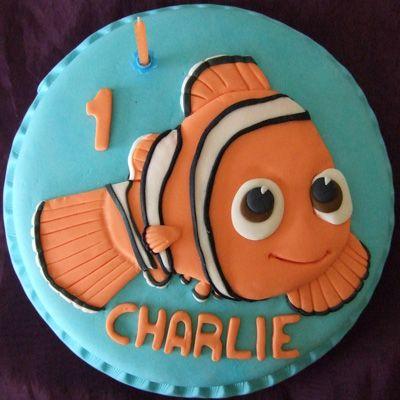 Childrens Cakes  -Nemo