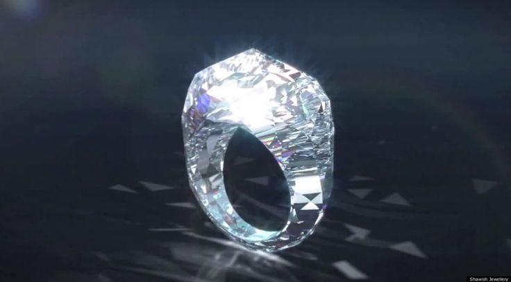 150 Carat Diamond ring - Bling!