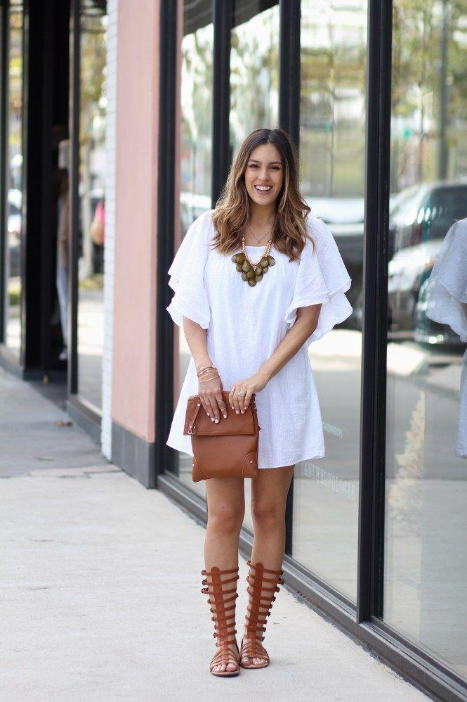 White Festival Dress – STYLETHEGIRL