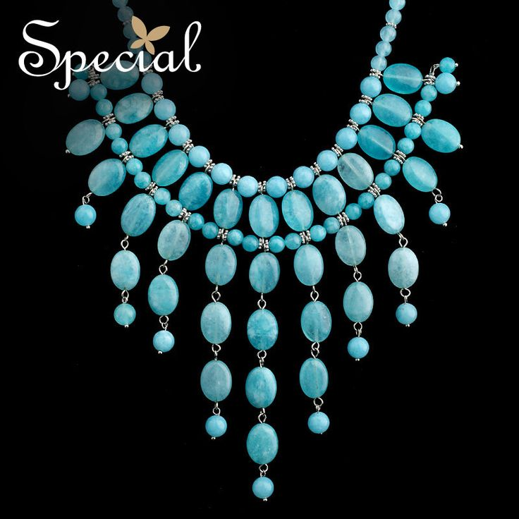 Cheap fashion statement necklace, Buy Quality statement necklace directly from China fashion necklace Suppliers: Special Fashion Natural Stone Maxi Necklace Statement Necklaces & Pendants European Style 2017 Jewelry Gifts for Women XL150307